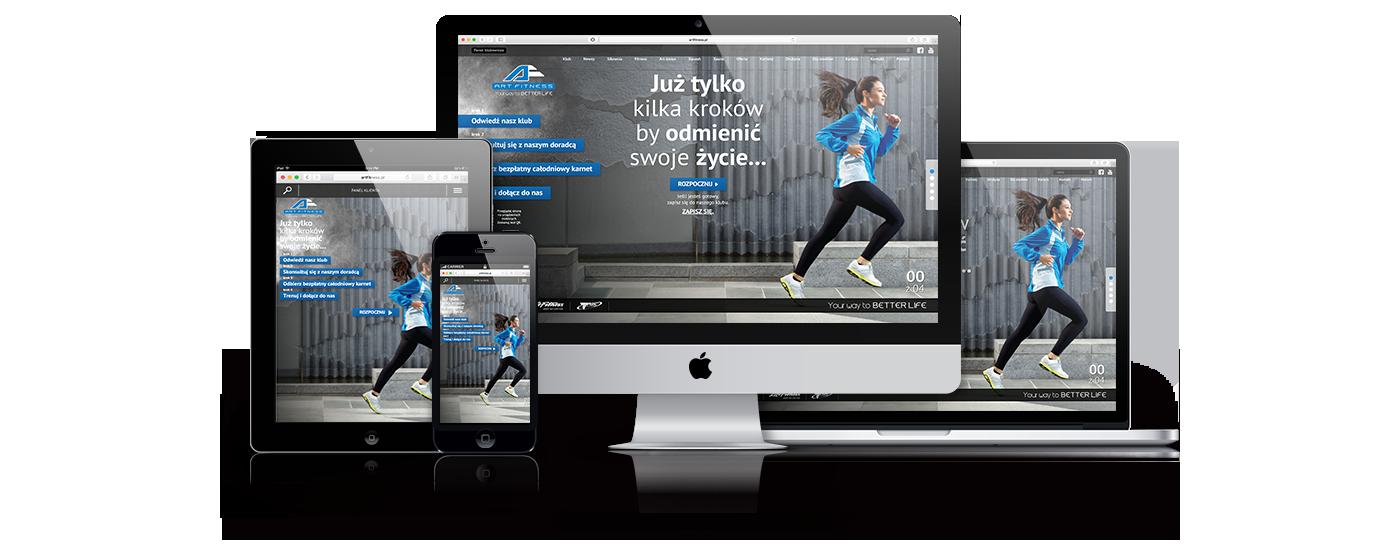 Art Fitness - strona www
